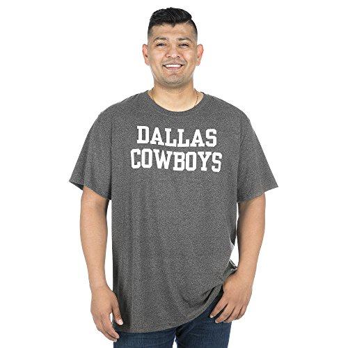 NFL Dallas Cowboys Herren-T-Shirt, kurzärmelig, Jungen, DCM Coaches Mens SS, dunkelgrau, Small