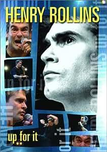 Henry Rollins - Up for it [DVD] [Region 1] [US Import] [NTSC]