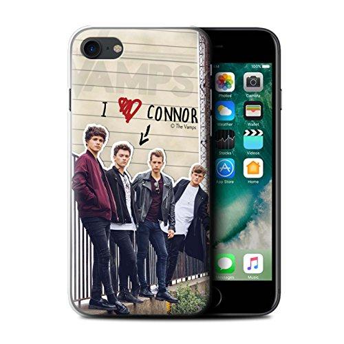 Officiel The Vamps Coque / Etui pour Apple iPhone 7 / Brad Design / The Vamps Journal Secret Collection Connor