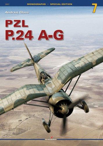 Pzl P.24 A-G (Monographs) por Andrzej Glass
