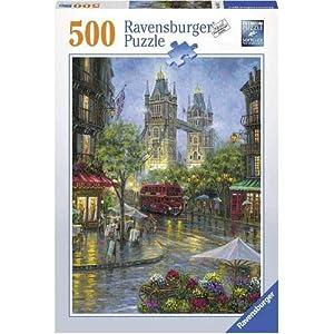 Ravensburger 00.014.812 Puzzle - Rompecabezas (Rompecabezas con Pistas Dibujadas, Ciudad, Preescolar, Niño/niña, 10 año(s), Interior)
