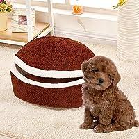 Mascota Nido Hamburguesa Algodón Terciopelo Extraíble Nido Hamburguesa Lavable Gato Litter Dog Kennel