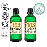 Naissance Zitronenöl (Nr. 103) 200ml (2x100ml) BIO zertifiziert 100% naturreines ätherisches Öl