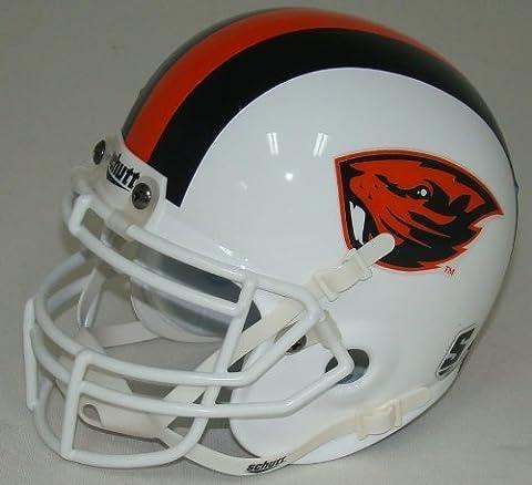 NCAA Oregon State Beavers Mini Helmet, One Size, White by Schutt