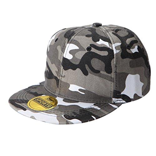 Hip Hop Casquette de Coton/Chapeau de Baseball Réglable pour Adultes