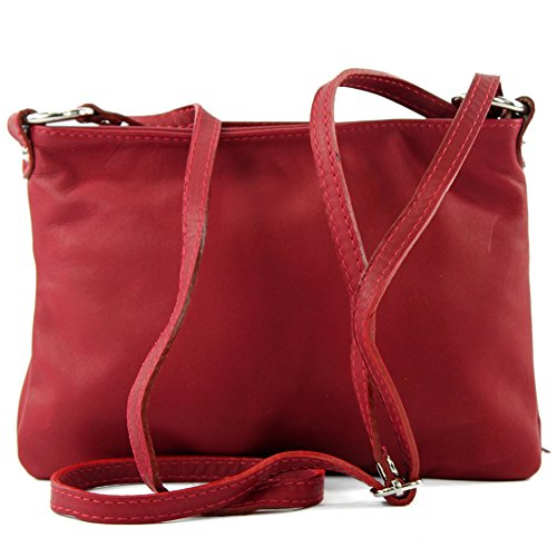 Made Italy , Sac bandoulière pour femme Dunkelrot2