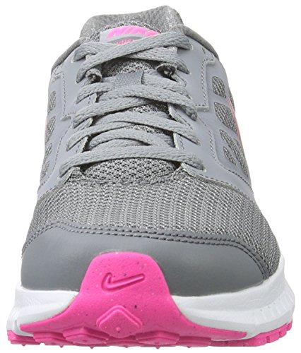Nike Wmns Downshifter 6, Chaussures de Running Entrainement Femme Multicolore (Stealth/Pink Blast-Cool Grey-White)