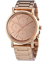 DKNY NY8862 Ladies Lexington Chronograph Rose Gold Tone Bracelet Watch