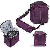 Navitech Sacoche / housse caméra violet pour Panasonic Lumix FZ82