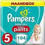 Pampers Baby Dry Pants Maat 5-104 Luierbroekjes Maandbox