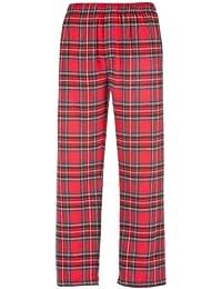 Boxercraft - Pantalones largos para dormir de franela Modelo Classic hombre caballero