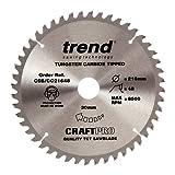Trend CSB/CC21648 CraftPro Saw Blade Crosscut 216mm x 48 Teeth x 30mm