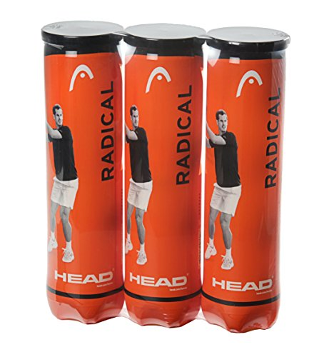 Head Radical Tennis Balls - Triple Pack (12 Balls)