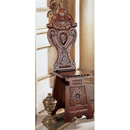 Design Toscano DeMedici Palast, Renaissance-Stuhl