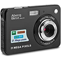 AbergBest 21 Mega Pixels 2.7' LCD Rechargeable HD Digital Video Students Cameras-Indoor…