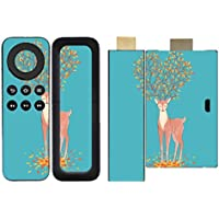 'Disagu SF/SDI 5258 _ 1180 Protective Skins Case Cover For Amazon Fire TV Stick Remote Control/Tree Deer 01 Clear preiswert