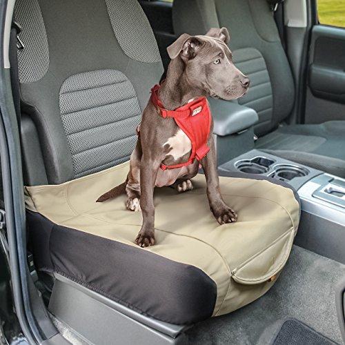 Kurgo resistente al agua Shorty cubo funda de asiento de coche para perros, Hampton arena Caqui–Garantía de por vida