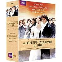 Chefs-d'oeuvres de la BBC: Orgueil & préjugés + Jane Eyre + Nord & Sud + Parade's End