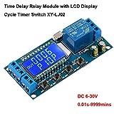 Innovateking-EU Time Delay Relay 12V 5V Módulo de relé USB 6-30V Interruptor de Control del...