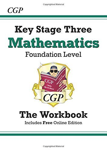 KS3 Maths Workbook (with online edition) - Foundation: Workbook (Without Answers) - Levels 3-6 by Parsons, Richard (2014) Paperback
