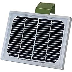 EUROHUNT Panel Solar, Unisex, Solarpanel, Plata