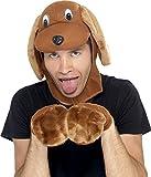 Hundehut Hunde Set Hut M�tze mit Handschuhen zum Tierkost�m