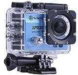 TecTecTec XPRO2 4K Ultra HD Sport-Kamera WiFi - Wasserdichte Kamera 16 Mp - Blue