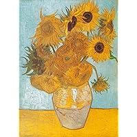Clementoni 31438 - Puzzle Van Gogh - Girasoli, Collezione Museum, 1000 Pezzi