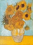 Clementoni - Puzzle de 1000 piezas Grandes Museos, diseño Van Gogh: Los Girasoles (314386)