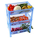 NOVICZ 3 Layer Kitchen Rack Stand Fruits...