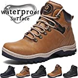 Best Winter Boots - Winter Boots Men Snow Boots Waterproof Leather Warm Review