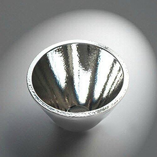 jiguoor 1LED-Taschenlampe Reflektor Cup High Power für C8XM-L xpl-hi T6V2orange-Peel-Reflektor Highlight Reflektor (Reflektor-taschenlampe)