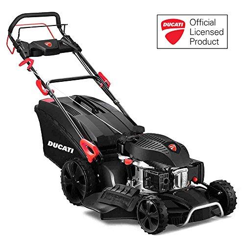 Ducati DLM5300 - Cortacésped a gasolina, 200 cc, 6 HP, autopropulsado, 53 cm