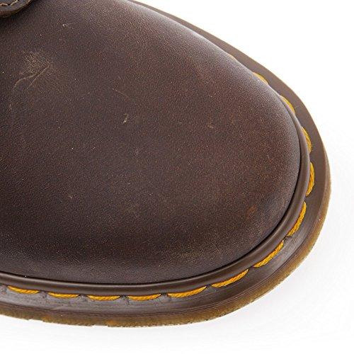Dr. Martens 1460, Boots mixte adulte Marron (Aztec Crazy Horse 212)
