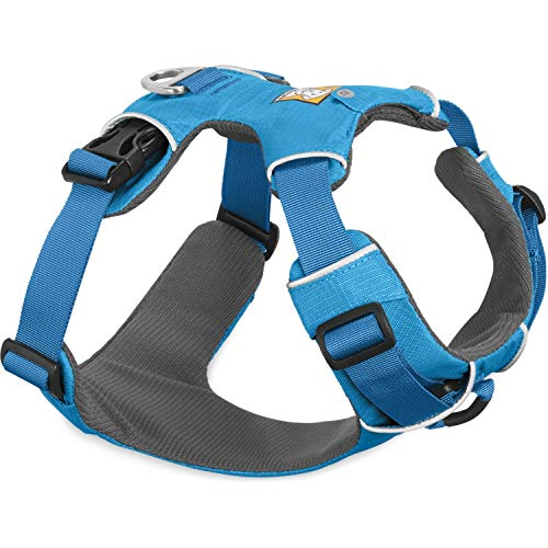Ruffwear All-Day Dog Front Range Harness, Blue (Dusk), M