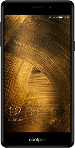 Coolpad Modena 2 Smartphone (13,9 cm (5,5 Zoll), IPS Display, 16 GB, Android 6.0) dunkelgrau