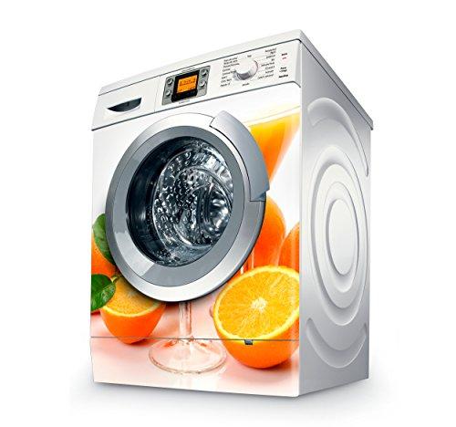 Vinilo Lavadora | Stickers Washing machine| Pegatina Lavadora | Oranges