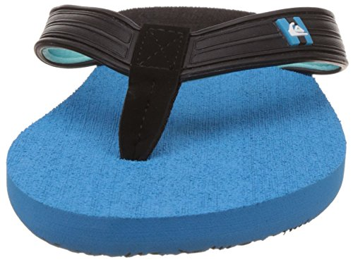 Quiksilver Aqyl100227, Chaussures de Plage Homme Noir (Black/Blue/Blue Xkbb)