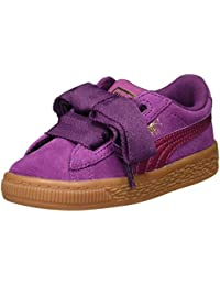 brand new 503f2 149c8 Puma Suede Heart Chaussures Mode Sneakers Enfant