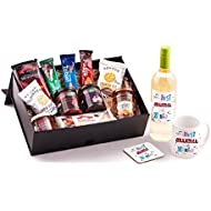 Grandma Birthday Hamper - Unique best in world gift idea for any Grandma's Birthday, Christmas, Well Done or Thank You gift. Includes Best Grandma wine, mug and coaster to make a special present.