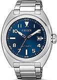 Ciudadano Mens Reloj automtico Urbana mecnico Esfera Azul NJ0100-89L