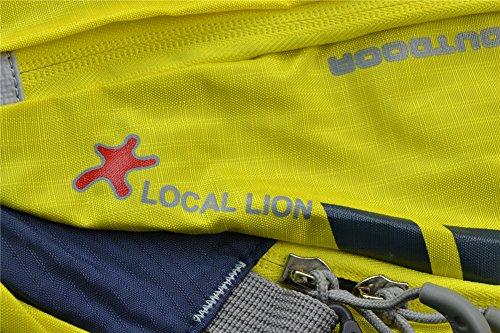West Biken, Radfahren, Wandern, 25 l, Trekking Rucksack Daypack, wasserabweisend, erhältlich in 8 Farben Gelb - gelb