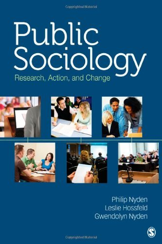 Public Sociology: Research, Action, and Change by Philip W. Nyden (2011-06-15)