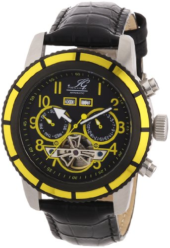Ingraham Men's Automatic Watch Portland IG PORT.1.200117 with Leather Strap