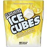 Hershey's Ice Breakers Cubes Cool Lemon Sugar-free Mints Bottle (40 Cubes)