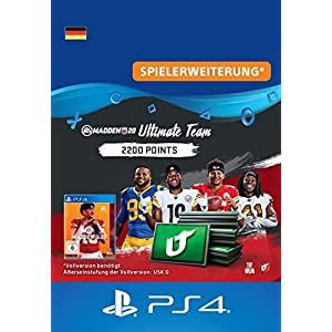 Madden NFL 20 – 2200 Ultimate Team Points – 2200 Ultimate Team Points DLC | PS4 Download Code – deutsches Konto