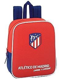 Atletico De Madrid 2018 Sac voyage, 40 cm, 22 liters, Multicolore (Rojo y azul)