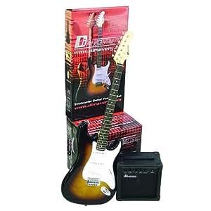 Dimavery 26210102 EGS-10 SunBurst E-Gitarren Set