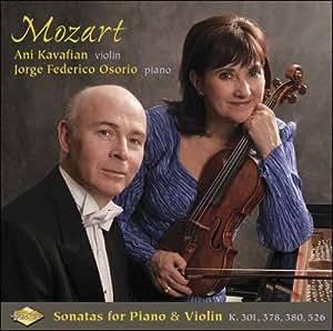 Mozart Sonatas for Piano & Vio