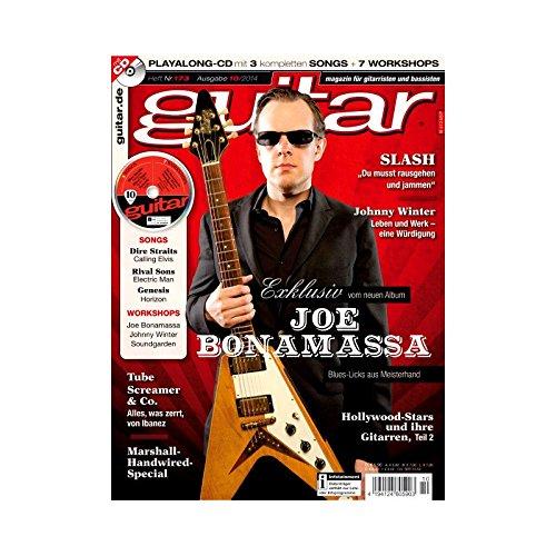 Preisvergleich Produktbild Guitar Ausgabe 10 2014 - Joe Bonamassa - mit CD - Interviews - Workshops - Playalong Songs - Test und Technik